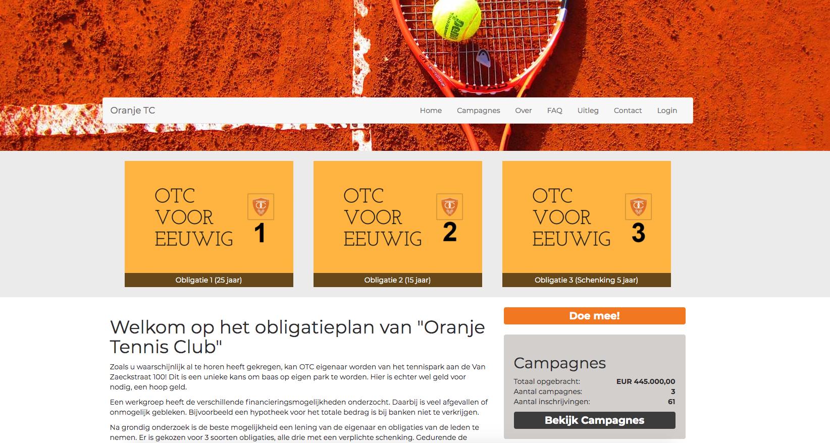 Oranje TC obligatie