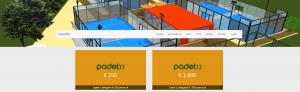 Padel33 obligatieplanpagina